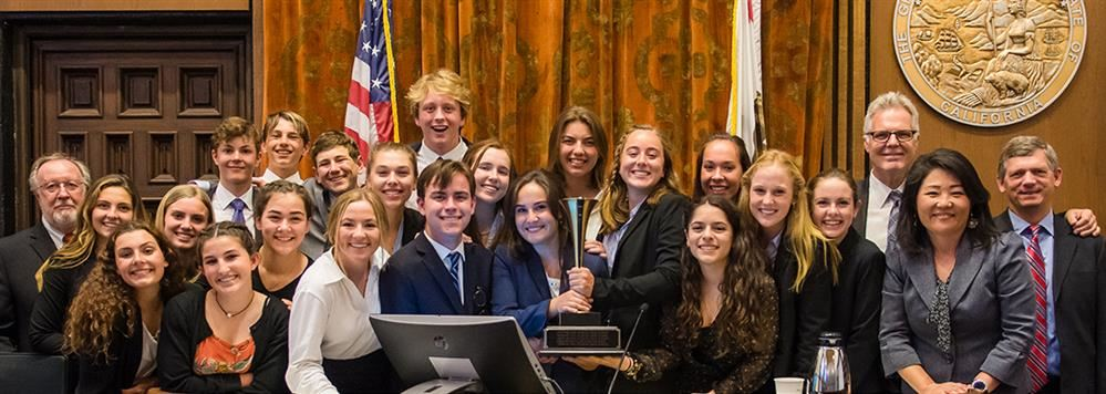 San Marcos High School wins 2020 county Mock Trial competition