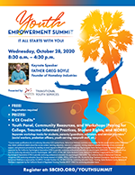 Transitional Youth Services Youth Summit flyer