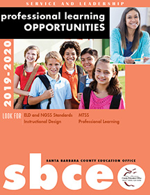 Image of SBCEO Professional Learning Opportunities Poster